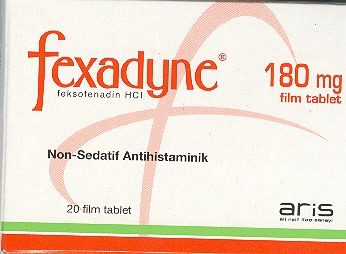 �la� Foto�raf�: Fexadyne 180 Mg 20 Tablet