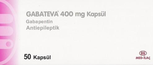 �la� Foto�raf�: Gabateva 400 Mg 50 Kaps�l