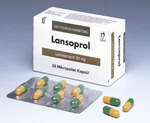 İlaç Fotoğrafı: Lansoprol 30 Mg 28 Mik.kapsül