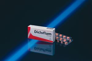 İlaç Fotoğrafı: Dicloflam 50 Mg 20 Draje