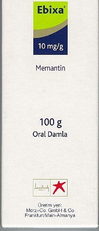 �la� Foto�raf�: Ebixa 10 Mg 100 Tablet