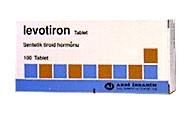 �la� Foto�raf�: Levotiron 0,1 Mg 100 Tablet
