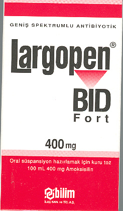 �la� Foto�raf�: Largopen-bid 400 Mg 100 Ml S�spansiyon