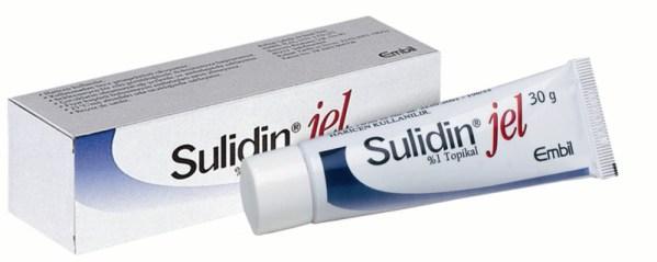 İlaç Fotoğrafı: Sulidin Jel % 1 30 Gr Jel