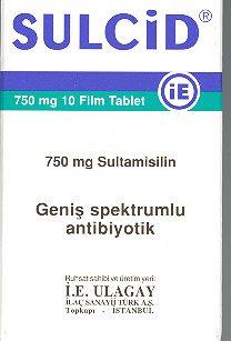 �la� Foto�raf�: Sulcid 375 Mg 10 Film Tablet