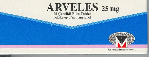 �la� Foto�raf�: Arveles 25 Mg 20 Film Tablet
